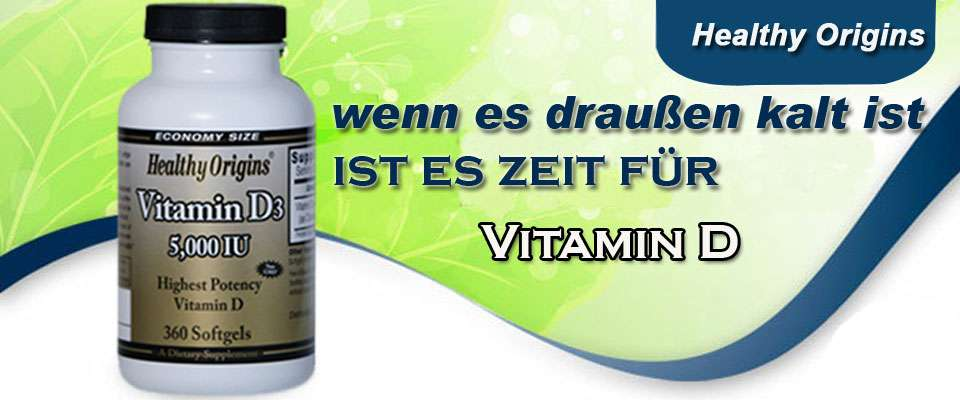 Vitamin D von Healthy Origins