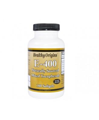 Healthy Origins, E-400, 180 Softgel-Kapseln