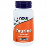 Taurine 500 mg (100 caps) - NOW Foods