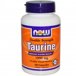 Taurine Double Strength 1000 mg (100 Capsules) - Now Foods
