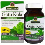 Gotu Kola, Standardized Herbal Extract, 300 mg (60 Veggie Caps) - Nature's Answer