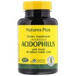 Acidophilus- Lactobacillus  (90 Vegetarian Capsules) - Nature's Plus