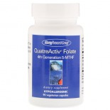 QuatreActiv Folate 4th Generation 5-MTHF 90 Vegetarian Capsules - Allergy Research Group