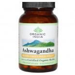 Organic India, organisch, Ashwagandha, 90 Veggie Caps