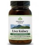 Leber Niere Formel (90 Veggie Caps) - Organic India