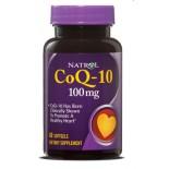 Natrol, CoQ-10 100 mg, 60 Kapseln