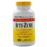 Acti-Zyme (180 Vegetarian Capsules) - Nature's Plus