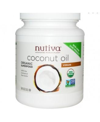Nutiva 100% Bio Kokosnussöl Extra Virgin 1,6 l