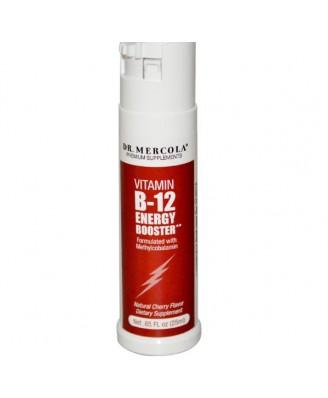 Dr. Mercola, Vitamin B-12 Energy Booster, Natürliche Kirschgeschmack, 0,85 Flüssigunzen (25 ml)