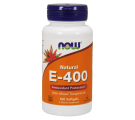 Vitamin E-400 IU (100 Softgels) - Now Foods