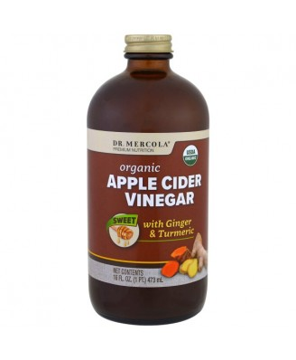 Organic Apple Cider Vinegar - Sweet (473 ml) - Dr. Mercola