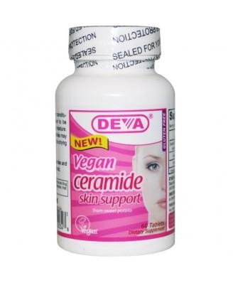 Vegan Ceramide Skin Support (60 Tablets) - Deva