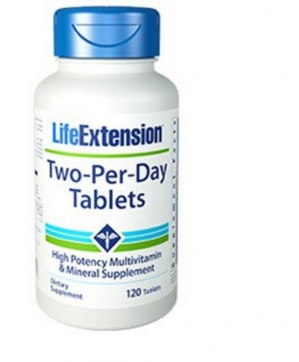 Two-Per-Day Capsules - 120 Capsules - Life Extension