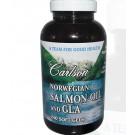 Carlson Labs, Norwegian Salmon Oil and GLA, 240 Softgels