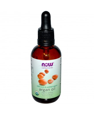 Now Foods, Solutions, Organic Argan Oil, 2 fl oz (59 ml)