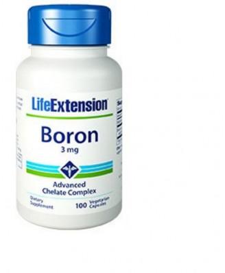 Bor 3 Mg - 100 Vegetarische Kapseln – Life Extension