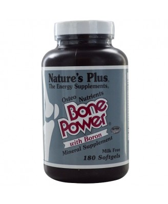 Bone Power with Boron (180 Softgels) - Nature's Plus