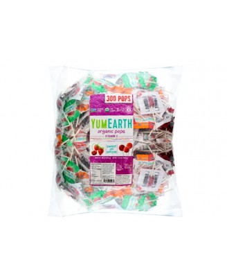 Organic Pops - Assorted Flavors 50 Pops (348 Gram) - Yummy Earth
