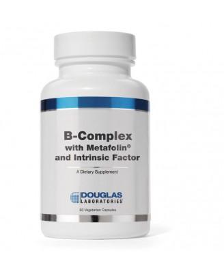 B-Komplex w/Metafolin ® und Intrinsic-Faktor (60 vegetarische Kapseln) - Douglas Laboratories