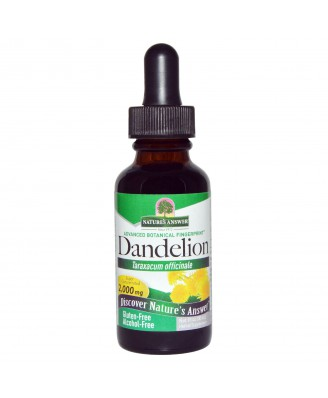 Dandelion, Alcohol Free, 2000 mg (30 ml) - Nature's Answer