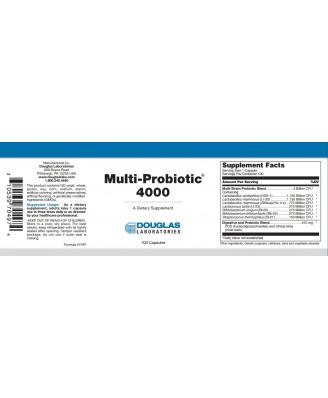 Multi-probiotische 4000 (100 Kapseln) - Douglas Laboratories