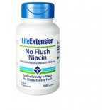 No Flush Niacin (Inositol Hexanicotinat) 800 Mg - 100 Kapseln - Life Extension