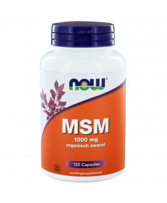 Now Foods, MSM, Methylsulphonylmethane, 1000 mg, 120 Capsules