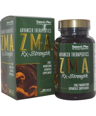 Advanced Therapeutics - ZMA Rx-Strength (90 Vegetarian Capsules) - Nature's Plus