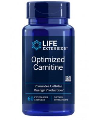 Geoptimaliseerde Carnitine Met Glycocarn - 60 Plantaardige Capsules  - Life Extension