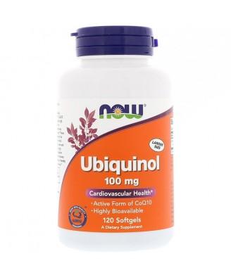 Ubiquinol 100 mg (120 softgels) - Now Foods
