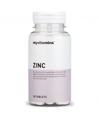 Myvitamins Zinc, 30 Tablets (30 Tablets) - Myvitamins