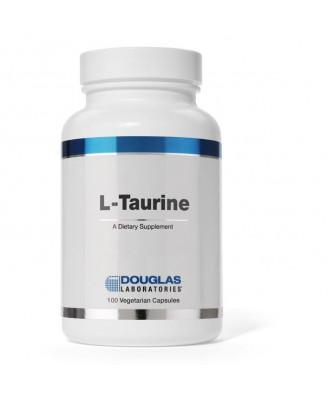 Taurine - 100 vegetarian capsules - Douglas Laboratories