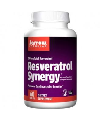 Resveratrol Synergy 200 mg Total Resveratrol (60 tablets) - Jarrow Formulas