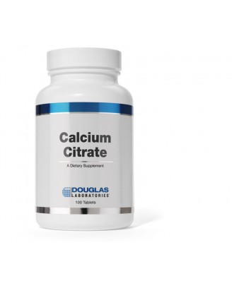 Calciumcitrat - 100 Tabletten - Douglas Laboratories