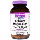 Calcium Magnesium Zinc (120 softgels) - Bluebonnet Nutrition