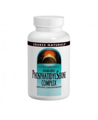 Phosphatidyl Serine Complex 500 mg (60 Softgels) - Source Naturals