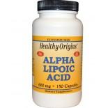 Healthy Origins, Alpha Lipoic Acid 600 mg, 150 Capsules