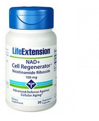 Nad+ Zellregenerator Nicotinamid-Ribosid, 100 Mg, 30 Vegetarische Kapseln - Life Extension
