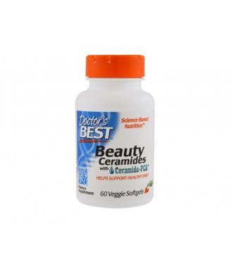 Beauty Ceramides with Ceramide-PCD (60 Veggie Caps) - Doctor's Best