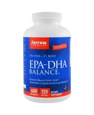 EPA-DHA Balance (120 Softgels) - Jarrow Formulas
