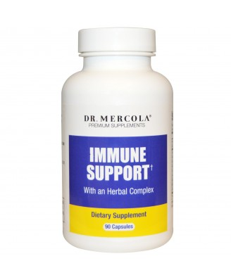 Dr. Mercola, Premium Supplements, Immune Support, 90 Capsules