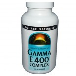 Gamma E 400 (400mg) - 120 Softgels  - Source Naturals