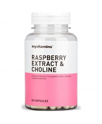 Myvitamins Raspberry Extract & Choline, 180 Tablets (180 Capsules) - Myvitamins