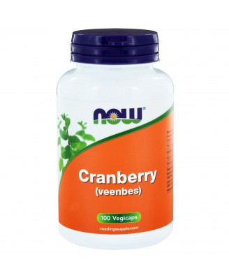 Cranberry (Veenbes) (100 vegicaps) - NOW Foods