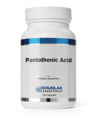 Douglas Laboratories,Pantothenic Acid 500 mg - 100 Capsules