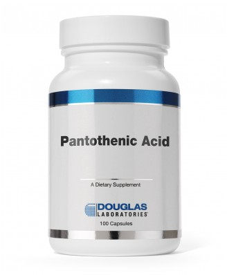 Pantothenic Acid 500 mg (100 Capsules) - Douglas Laboratories