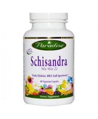 Schisandra (60 Veggie Caps) - Paradise Herbs