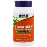 CurcuFresh Curcumin Powder (57 gram) - Now Foods