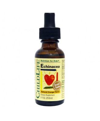 Echinacea- Natural Orange Flavor (30 ml) - Childlife