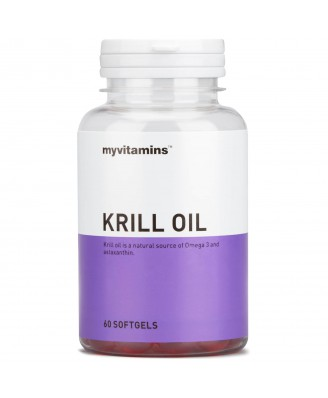 Myvitamins Krill Oil, 180 Soft Gels (180 Softgels) - Myvitamins